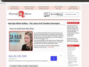 Hairstylealbum - Wordpress