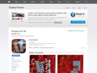 Dropipe Pro Ad