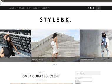 Thestylebk - Wordpress, Woocommerce