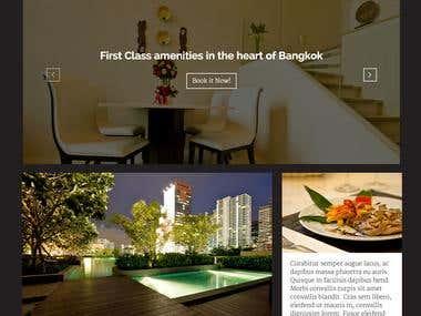 Duplex Bangkok - Webseite