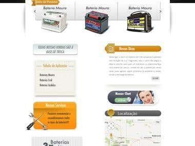 Battery Website