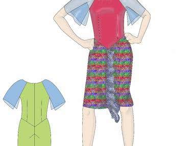 Women fashion design