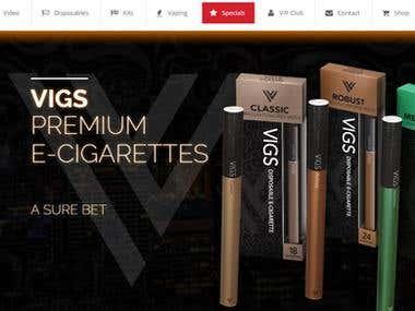 VIGS Cigs - Premier E Cigarettes