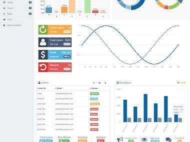 Cascade Admin Bootstrap Template