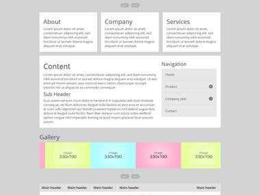 Sample Responsive Webpage