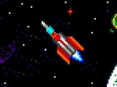 Space Scene for Banner