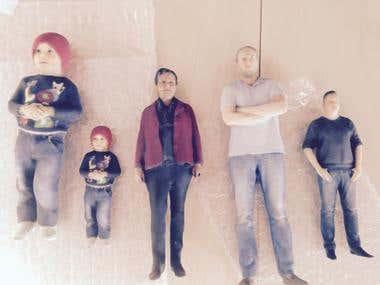 3D Figurine Design & PRINTING