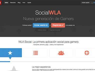 WLA Desarrollo RED SOCIAL