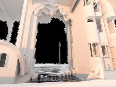 3D architectural representation