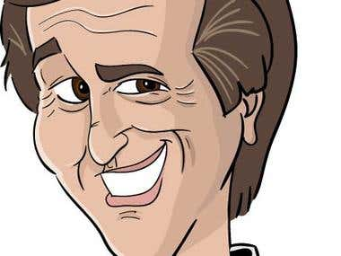 caricature character