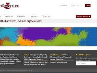 Social Organization Site
