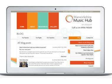 Warwickshire Music Hub - Local Government Website