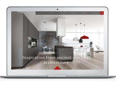 La Galerie Design - Website development