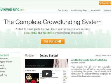 Crowdfunding Website Registration System