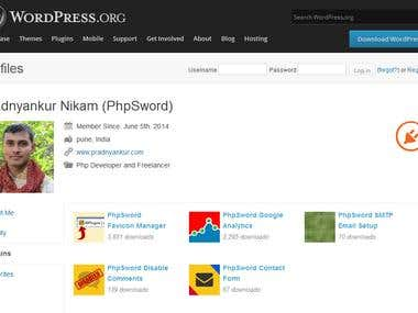 My WordPress Plugins