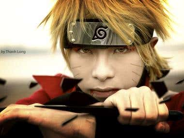 Blending Cosplay Naruto