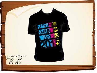 T-Shirt ( Spring break )