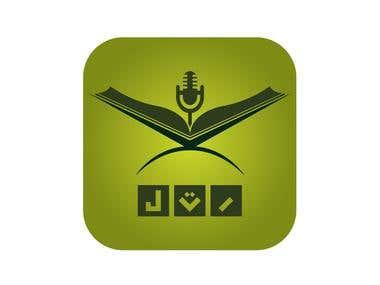 Logo for Islamic app