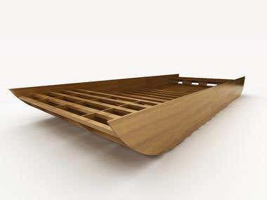 3D Boat Structure
