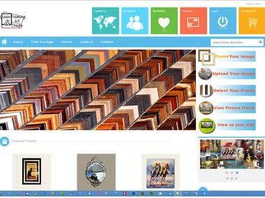 ASP.NET MVC4 Shopping Cart for Photo Framing