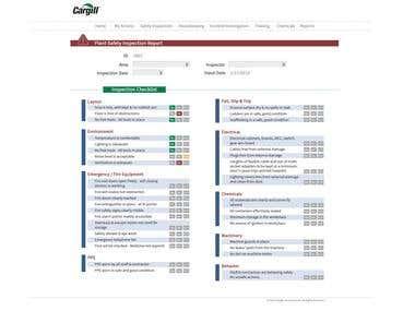 Internal Management System Web App