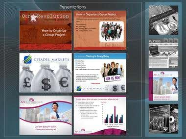 Powerpoint Template Design and Formatting