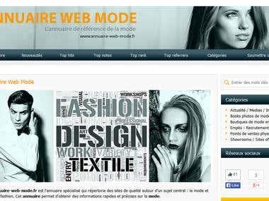 annuaire-web-mode.fr