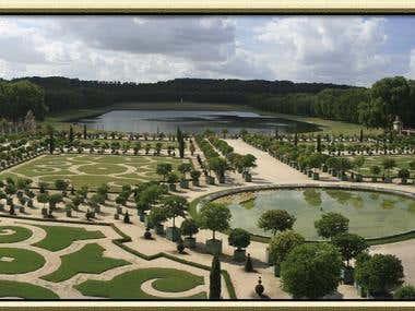 Panorámica de Versalles