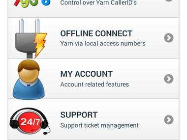 Yarn Apps (Android, iOS, BlackBerry 10, Windows Phone 8,...)