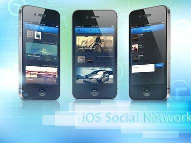 iOS social network using parse.com cloud service