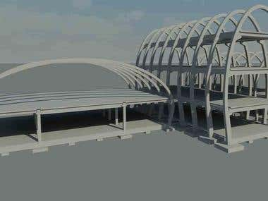 Revit structural library Arch Project