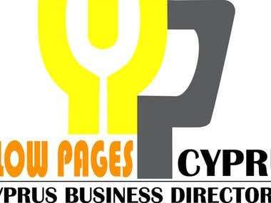 Logo for a yellow pages