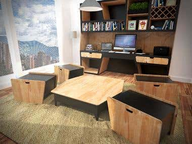 Alef Modular Desk