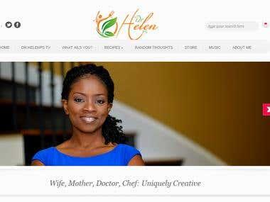 Dr. Helen\'s Website and Webinar System