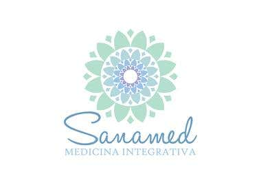 Logo design - Sanamed