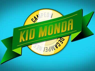 Logo design and animation - Kid Monda