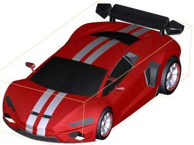 Design Super Car 3D