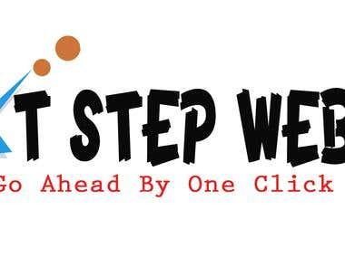 Logo Design For nextstepwebsolution.com