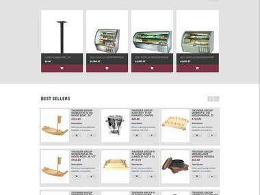Magento [RESPONSIVE] Ecommerce | Kitchen equipment