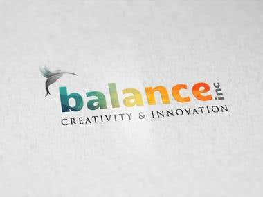 Logo design for balance.inc