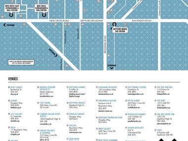 Deptford X London Art Festival 2014 booklet