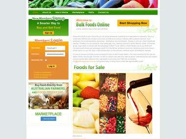 Joomla- Bulk Food Online
