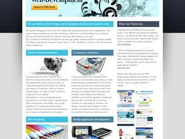 Web Designing- Cee Wise Web Work
