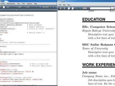 PDF to Latex conversion