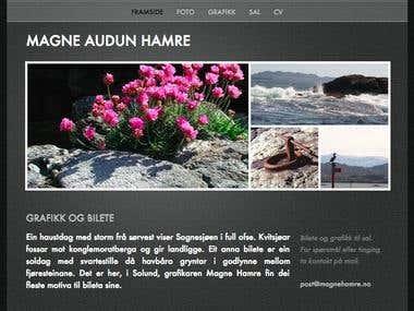 Website (Magne Hamre)