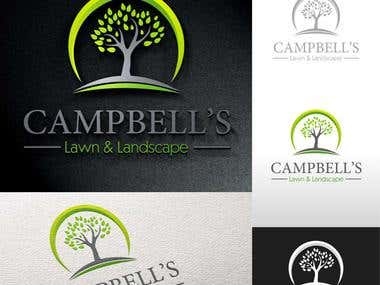 Design a Logo for Campbell\'s Lawn & Landscape