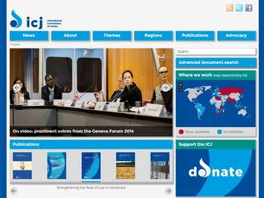 ICJ website