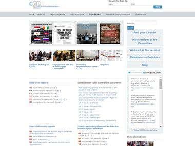 CCPR website