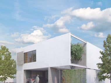 casa los sueños- 3d visualization