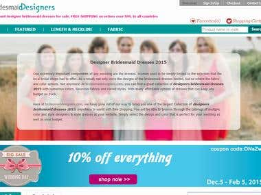 Seo for BridesmaidDesigners